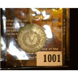 "1001.         1905 Liberty Head Nickel c/s ""G""."