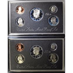 1995 & 1992 UNITED STATES SILVER MINT PROOF SETS