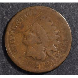 1877 INDIAN HEAD CENT GOOD+  KEY COIN!  RARE