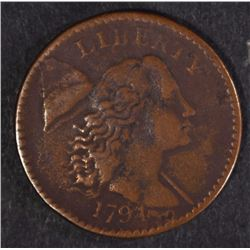 1794 LARGE CENT,  VF
