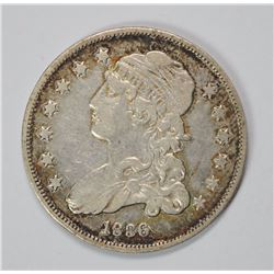 1836 CAPPED BUST QUARTER, XF+
