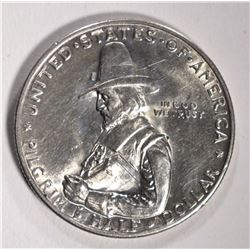 1920 PILGRIM HALF DOLLAR COMMEM - CHOICE BU