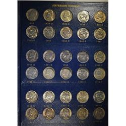 JEFFERSON NICKEL SET: 1938-1964 CHOICE  BU 1965 -1983 BU  & PROOFS IN NICE ALBUM