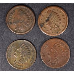 ( 4 ) CIVIL WAR TOKENS: BROAS BROTHERS