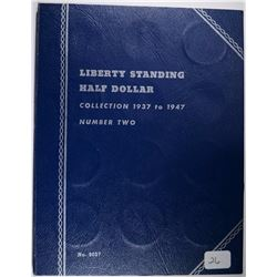 ( 26 ) DIFFERENT CIRC WALKING LIBERTY HALF DOLLARS IN 1937-1947 COIN FOLDER