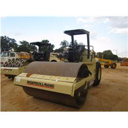"""1998 INGERSOLL-RAND PRO PAC SD100D ROLLER, VIN/SN:154444 - VIBRATORY, 84"""" SMOOTH DRUM, CANOPY, METER"""