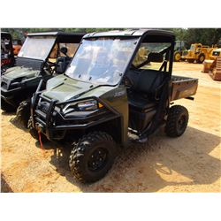 2015 POLARIS RANGER XP 900 SIDE BY SIDE, VIN/SN:3BSRTE870FG874381 - GAS ENGINE, CANOPY, WINDSHIELD,