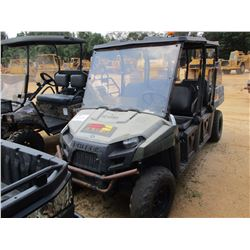 2011 POLARIS RANGER SIDE BY SIDE, VIN/SN:4XAWH5DAXB4210133 - CREW CAB, 4X4, GAS ENG, WINDSHIELD, CAN