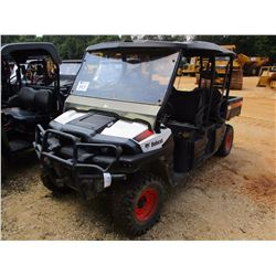 BOBCAT 3400 XL SIDE BY SIDE, VIN/SN:4XAAJNWA2D2030178 - 4X4, DIESEL ENGINE, CANOPY, WINDSHIELD, METE