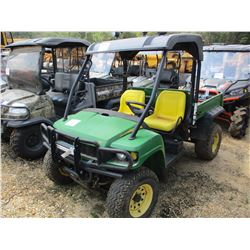 2009 JOHN DEERE XUV UTV, VIN/SN:030625 - LIGHT BAR, DUMP BED, CANOPY, METER READING 1,227 HOURS