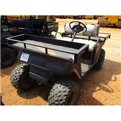 EZ-GO GOLF CART, - GAS ENGINE, FRONT & REAR RACKS