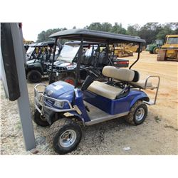 2007 ROUGH & TUFF GOLF CART, VIN/SN:HEL-0754 - ELECT, CANOPY, REAR SEAT, BUILT IN CHARGER
