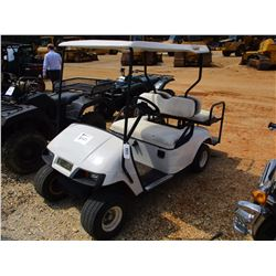 EZ-GO GOLF CART, VIN/SN:465 - ELECTRIC, CANOPY, REAR SEAT
