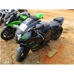 SUZUKI GSX 1000 MOTORCYCLE, - ODOMETER READING 8,344 MILES