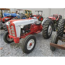 FORD 8N FARM TRACTOR, VIN/SN:168328 - 3 PTH, PTO, 1 HYD REMOTE, METER READING 1,141 HOURS