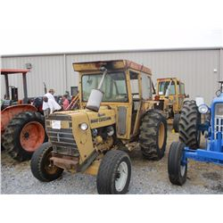 FORD 446A FARM TRACTOR, VIN/SN:C762707 - 3 PTH, PTO, ECAB, 19.9-24 TIRES, METER READING 4,724 HOURS
