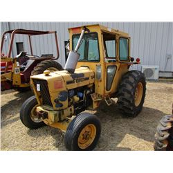 FORD 540A FARM TRACTOR, VIN/SN:0687086 - 3 PTH, PTO, ECAB, 169-24 TIRES, METER READING 3,615 HOURS