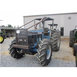 NEW HOLLAND 7740 FARM TRACTOR, VIN/SN:BD26101 - MFWD, 3 PTH, PTO, 1 REMOTE, CANOPY, 18.4-34 TIRES (S