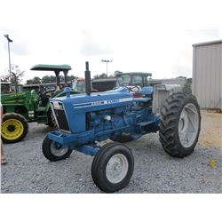FORD 6600 FARM TRACTOR, VIN/SN:0500637 - 3 PTH, PTO, 1 REMOTE, 15.5-38 TIRES, METER READING 9,832 HO
