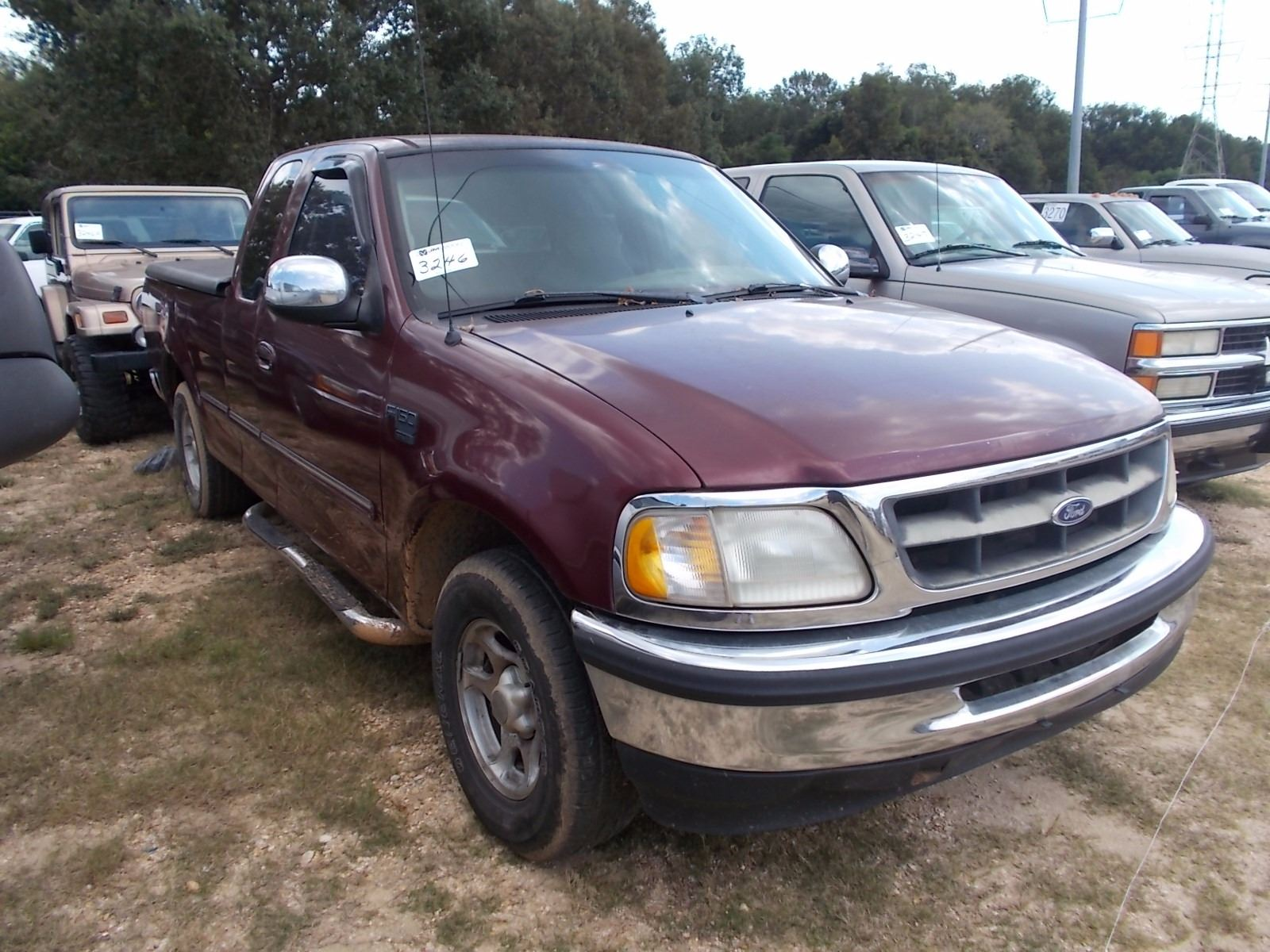 1998 Ford F150 Pickup  Vin  Sn 1ftzx17w9wnc05864