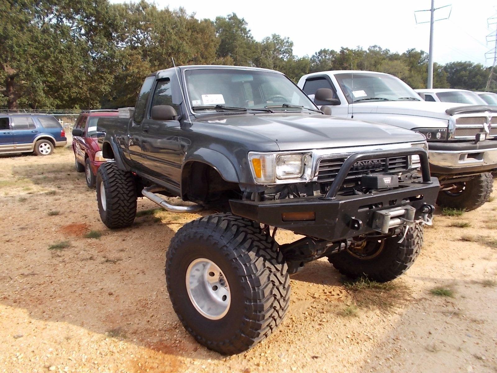 1990 Toyota Tacoma Pickup  Vin  Sn Jt4vn13d0l5020364