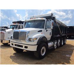 2007 INTERNATIONAL 7600 DUMP, VIN/SN:1HTWYAHT27J390579 - QUAD AXLE, CUMMINS DIESEL ENG, ALLISON 4500