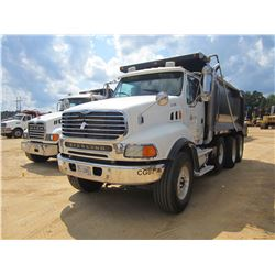 2005 STERLING DUMP, VIN/SN:2FZHAZDE35AN70745 - TRI-AXLE, C13 CAT DIESEL ENGINE, 8LL TRANS, ENGINE BR