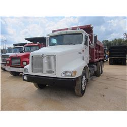 1999 INTERNATIONAL 9200 DUMP, VIN/SN:2HSFMAXR9XC034098 - T/A, 330HP CUMMINS M11 DIESEL ENGINE, 8LL T
