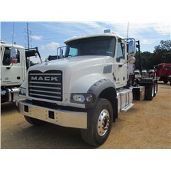 2016 MACK GU713 ROLL OFF TRUCK, VIN/SN:1M2AX04C5GM029657 - T/A, 405 HP MACK MP7 ENG, ALLISON 4500 RD
