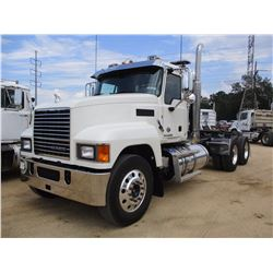 2017 MACK CHU613 TRUCK TRACTOR, VIN/SN:1M1AN07Y0HM026412 - T/A, 505HP MACK MP8 ENGINE, 18 SPD TRANS,