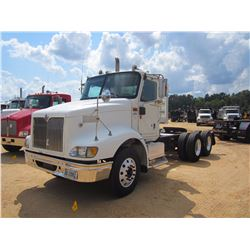 2007 INTERNATIONAL 9200 ITT TRUCK TRACTOR, VIN/SN:2HSCESBR27C432122 - T/A, C13 CAT DIESEL ENG, 10 SP