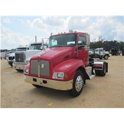 2007 KENWORTH TRUCK TRACTOR, VIN/SN:172328 - S/A, C7 CAT DIESEL ENG, A/T, 20K REARS, SPRING SUSP, 12