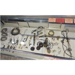 Misc. Wrist Watches, Earrings, Pins, Chains, Pendants, Bracelets, Keychains