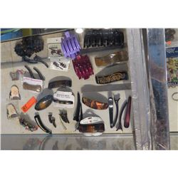 Large Lot of Misc. Hair Accessories: Hair Clips, Pins, Mini Comb, etc.