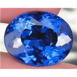 Natural London Blue Topaz 18.10 carats- VVS