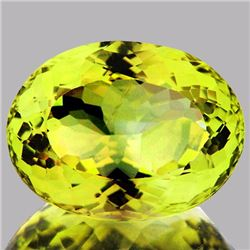 Natural Green Gold Lemon Quartz 11.60 Cts - VVS