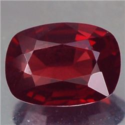 Natural Cushion Red Burmese Spinel 1.78 Cts