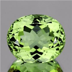 Natural Canary Green Apatite 3.65 Carats - VVS