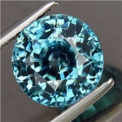 Natural Combodian  Blue Moon Zircon 5.65 Ct - VVS