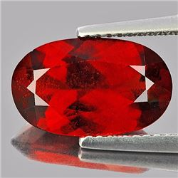 Natural Red Orange Hessonite Garnet 4.50 Carats - VVS