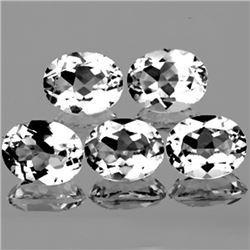 Natural White Topaz 10X8 MM