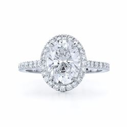 Natural Diamond Ring 1.10 cts - EGL