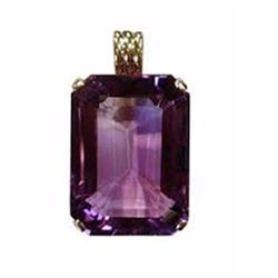 Natural Purple Amethyst Pendant