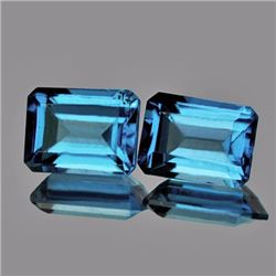 Santa Maria Blue Aquamarine 7 x 5 MM - VVS