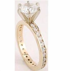 Stunning Diamond Engagement Ring 1.65 carats