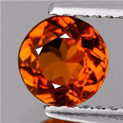 Natural Mandarin Orange Spessartite Garnet 6.50 MM VVS