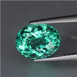 Natural Bluish Green Apatite 1.72 Cts