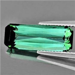Natural Teal Green Tourmaline 4.42 Cts - VVS