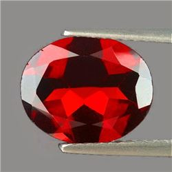 Natural  Mozambique Garnet 10 X 8 Mm {Flawless-VVS1}