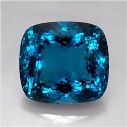 Natural London Blue Topaz 25.95 carats - VVS